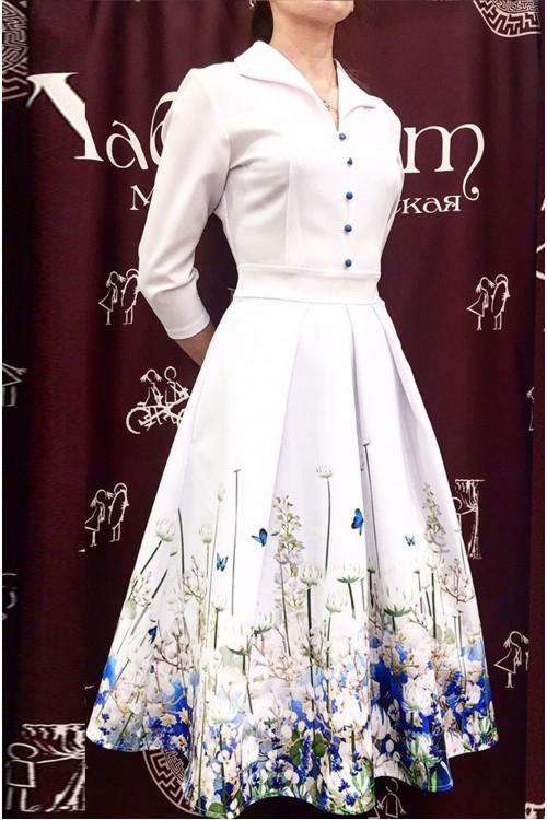 Платье Рианна (Принт)