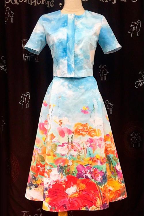 Платье Рита (Цветочная поляна)
