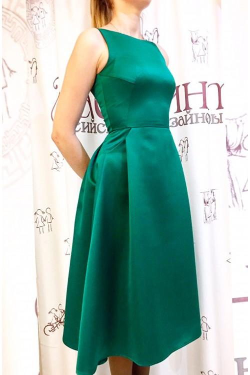 Платье Рита (зеленый)