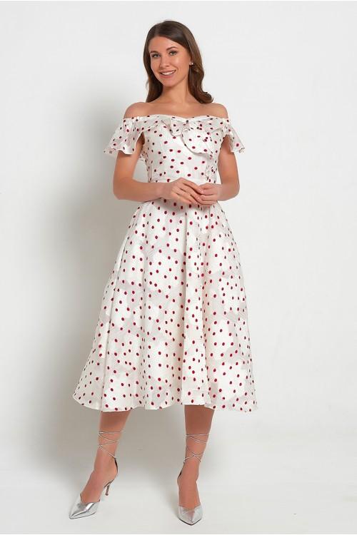 Платье Ромашка (Горох)