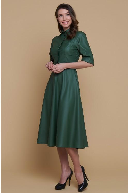 Платье Роза (Экокожа)