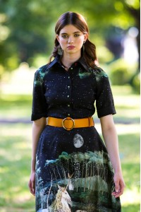 Платье Роза 2 из вискозы