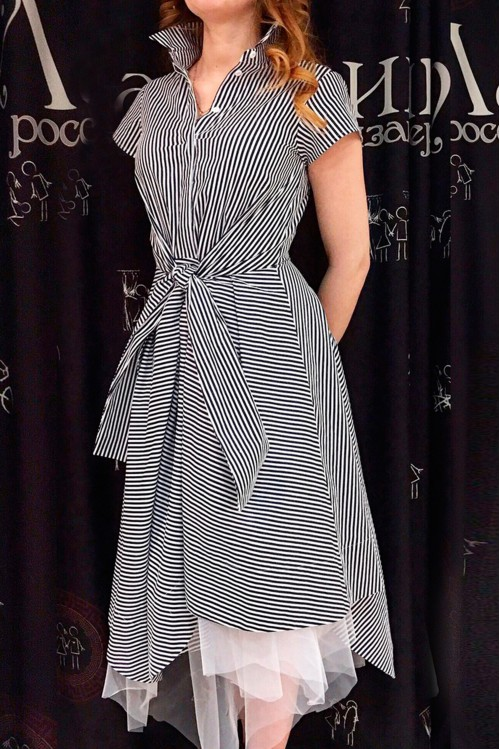 Платье Руслана (Полоска)