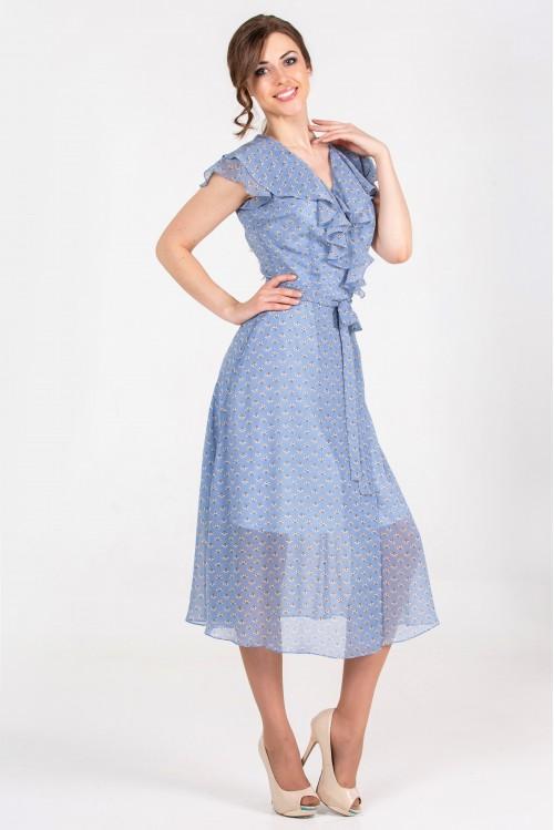 Платье Сабина (голубой)