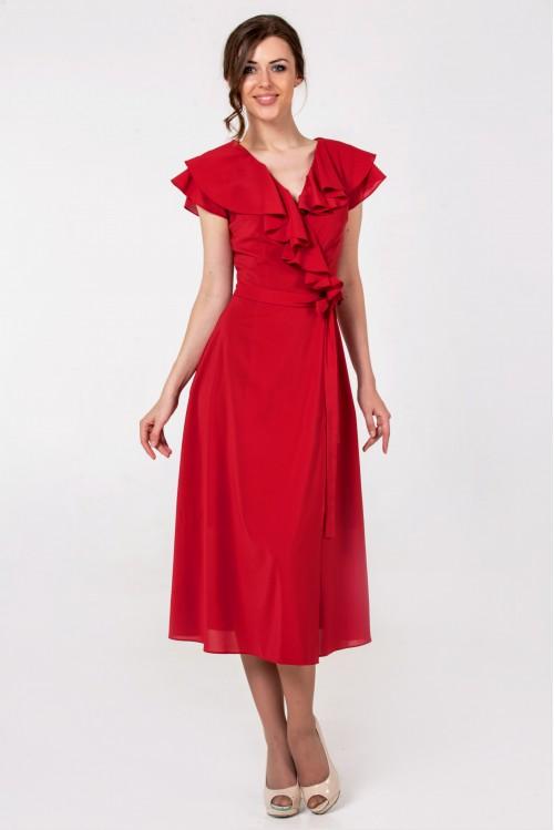 Платье Сабина (краный)