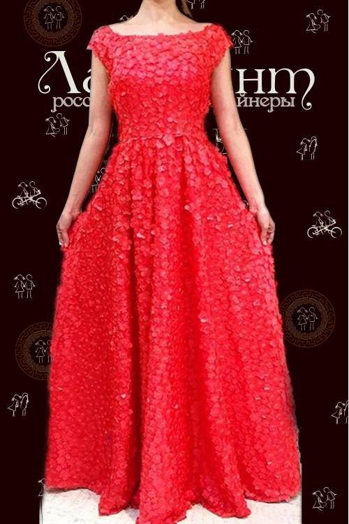 Платье Сандра (красный)