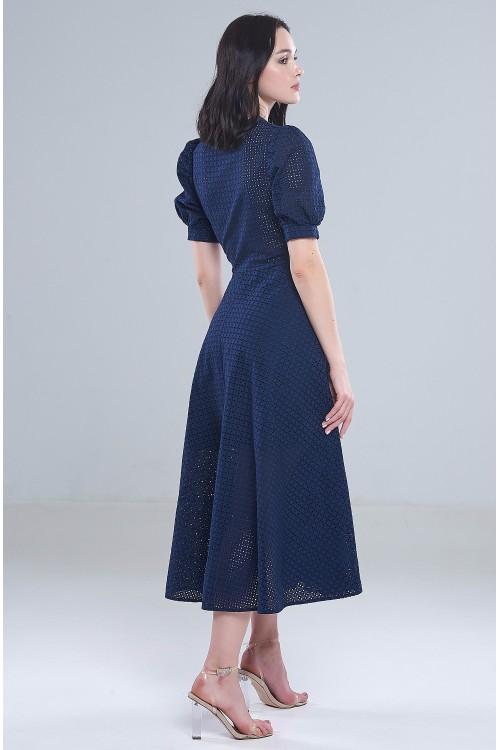 Платье Сандра (Синее)