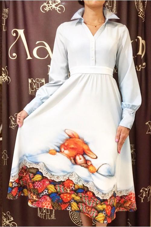 Платье Серафима (Принт)