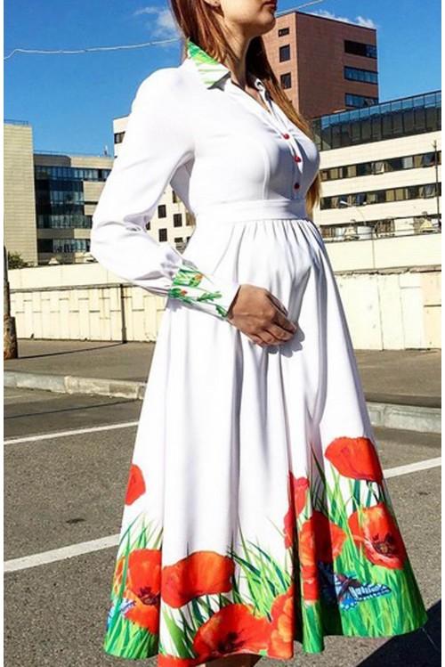 Платье Серафима (Маки)