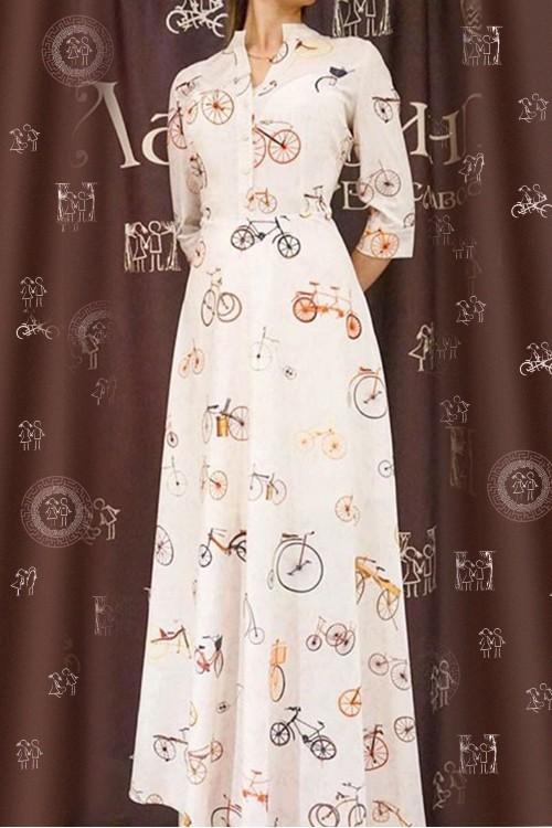 Платье Стефани (Принт)