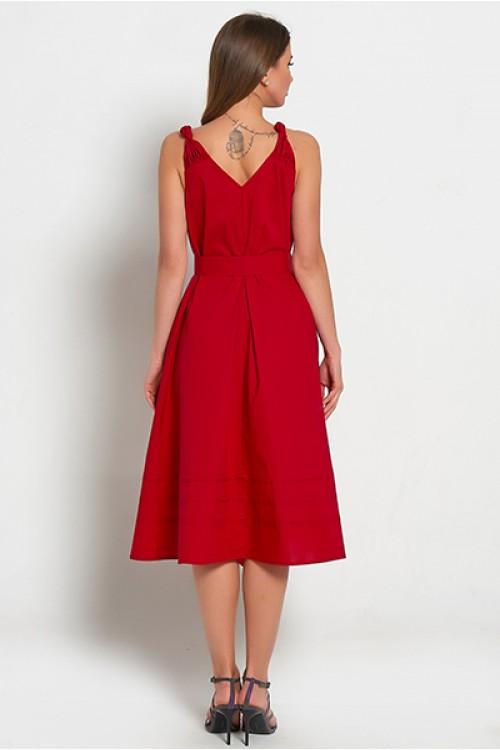 Платье Узелки (Красное)
