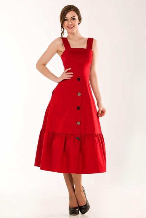 Платье Валери (красный)