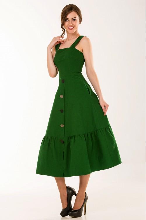 Платье Валери (зеленый)