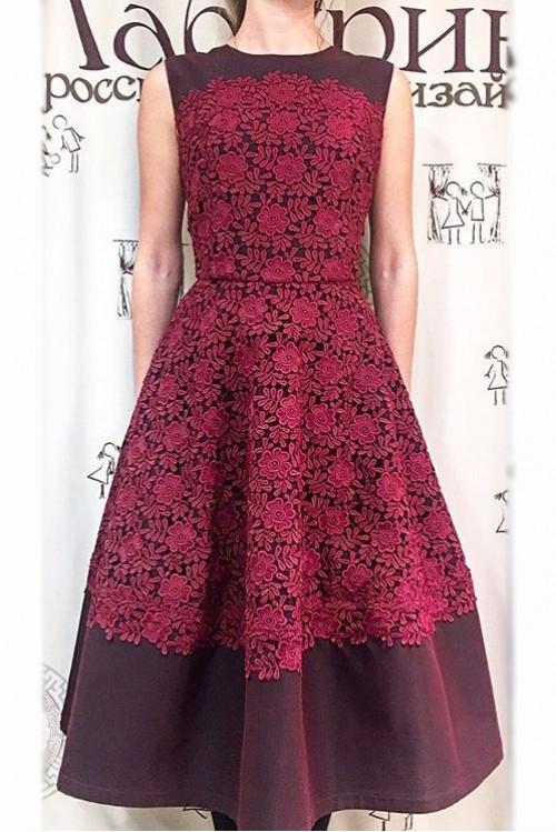Платье Вечерний звон (шитье)