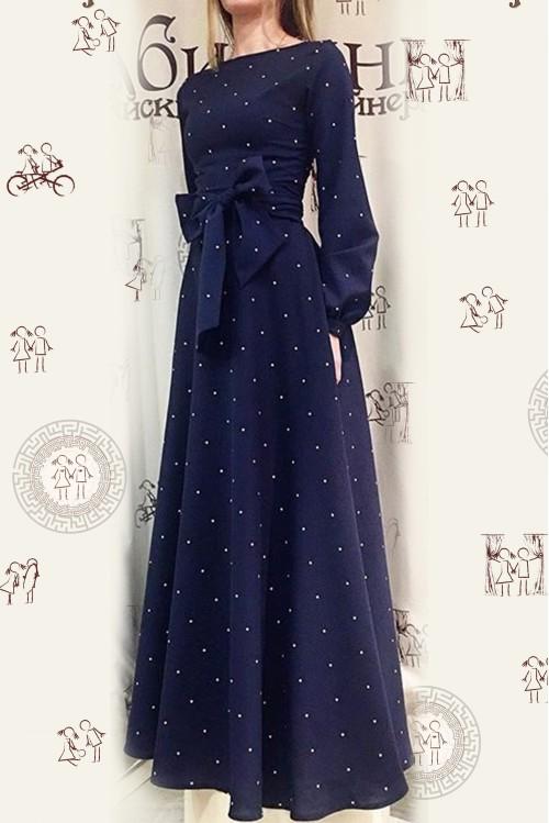 Платье Вечерняя Любовь (Горошек I)