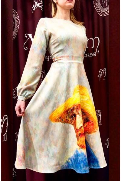Платье Вечерняя любовь (Ван Гог. Автопортрет)