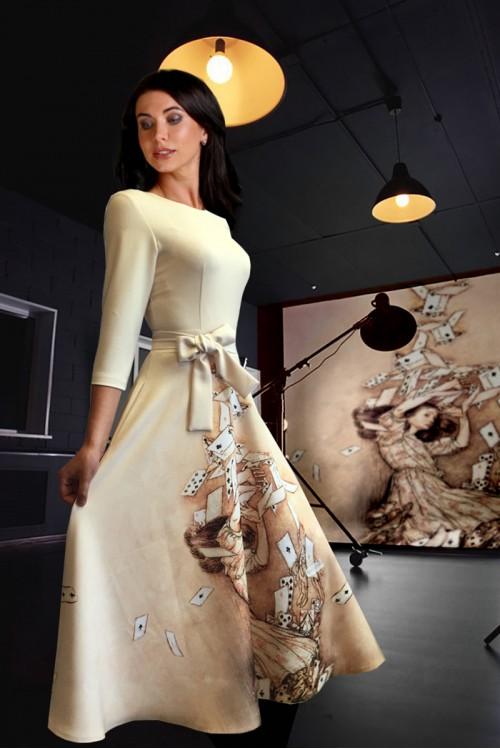 Платье Вечерняя Любовь ( Алиса и карты)