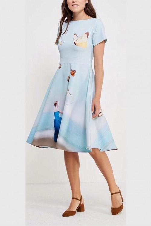 Платье Вечерняя Любовь (Девушка с бабочками)