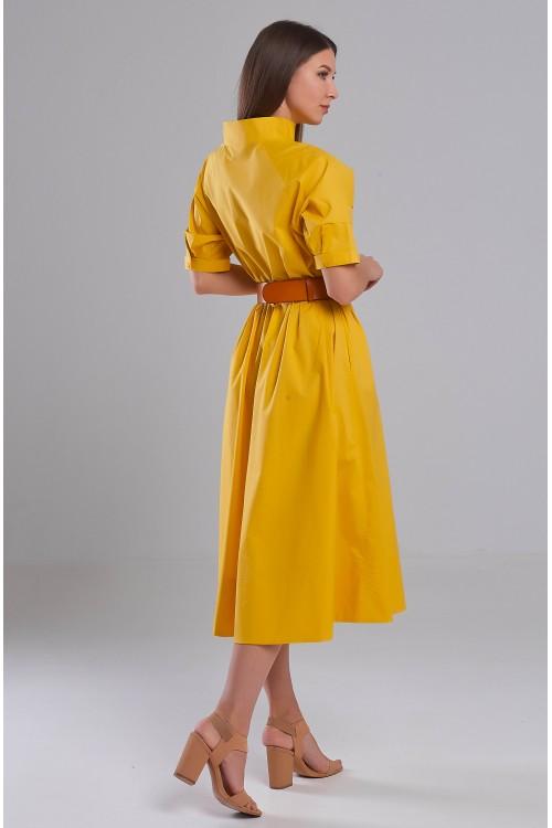Платье Елена (Желтый)