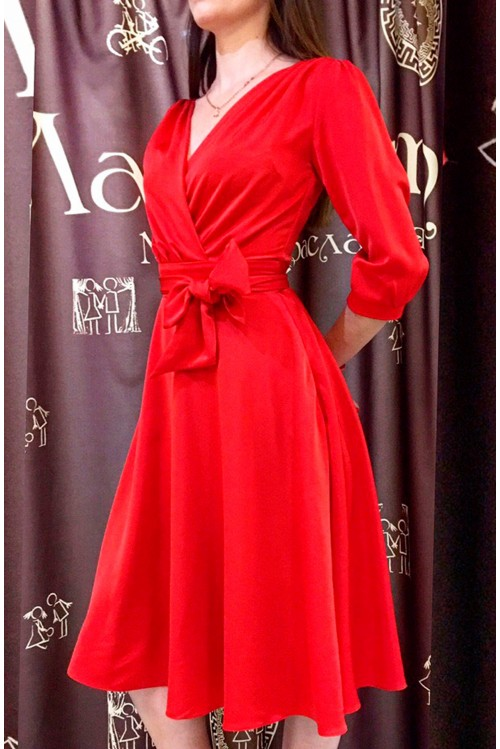 Платье Верона (красный)