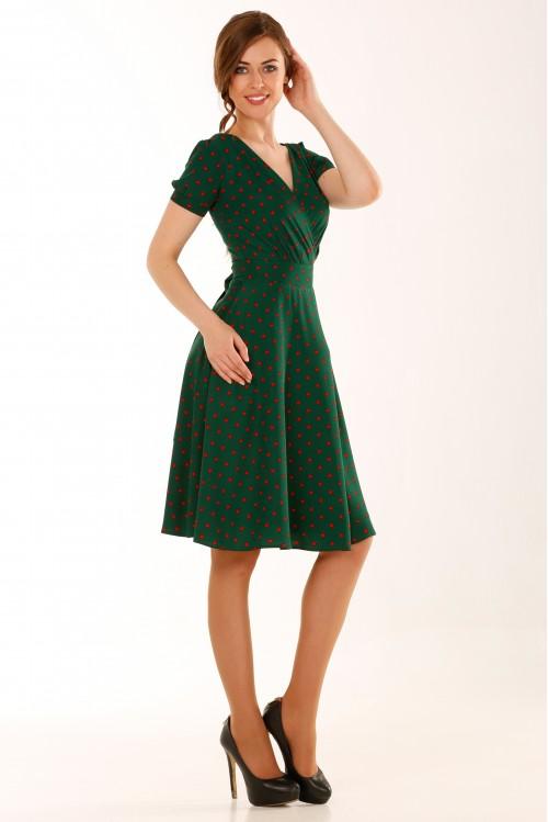Платье Верона (Горошек I)