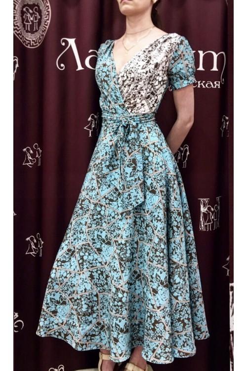 Платье Верона (шелк)