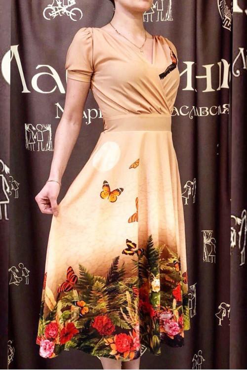 Платье Верона (Цветущая пустыня).
