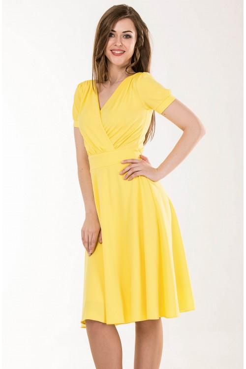 Платье Верона (желтый)