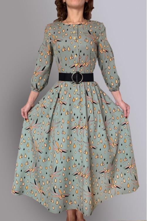 Платье Вероника (Облепиха)