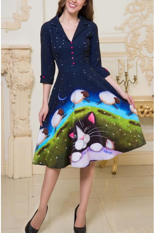 Платье Виола (Принт)