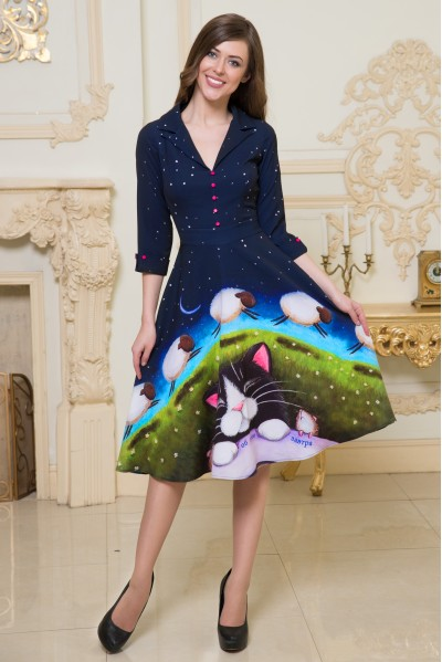 Платье Виола (Я подумаю об этом завтра)
