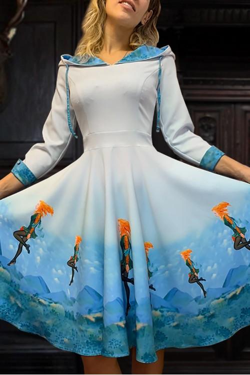 Платье Солнечная Виола ( Ирландия)