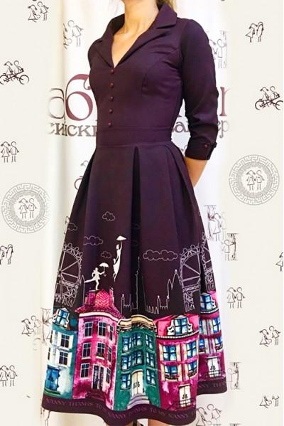 Платье Виолетта (Мери Поппинс)
