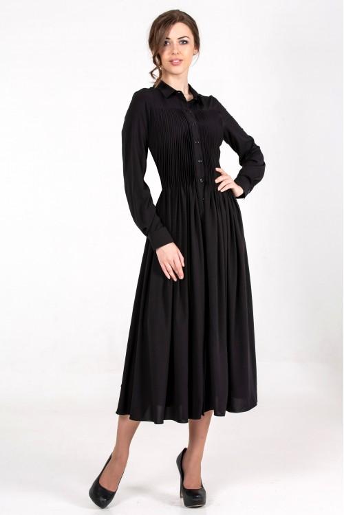 Платье Власта (черный)