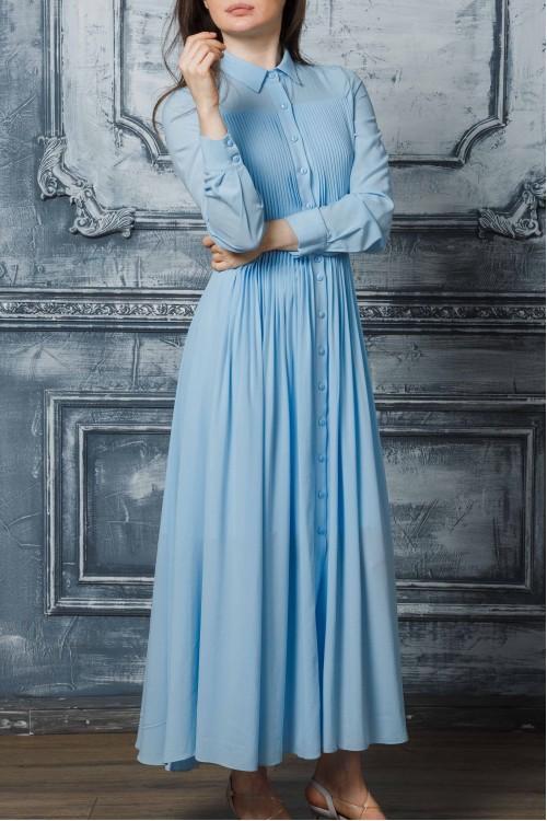 Платье Власта (голубой)