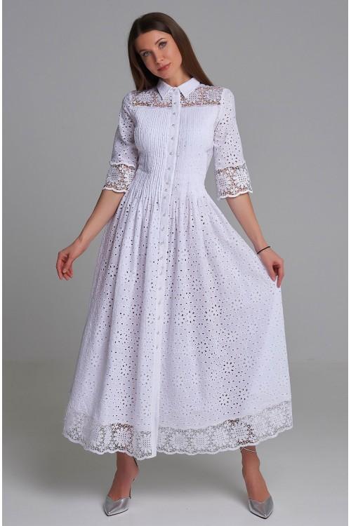 Платье Власта (Кружево, хлопок)