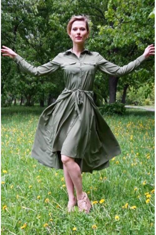 Платье Новое Сафари