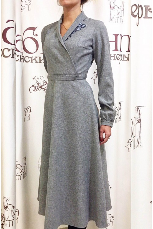 Платье Стелла (с аппликацией)