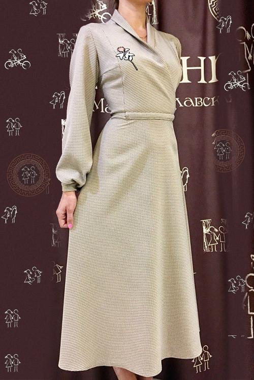 Платье Стелла (с аппликацией I)