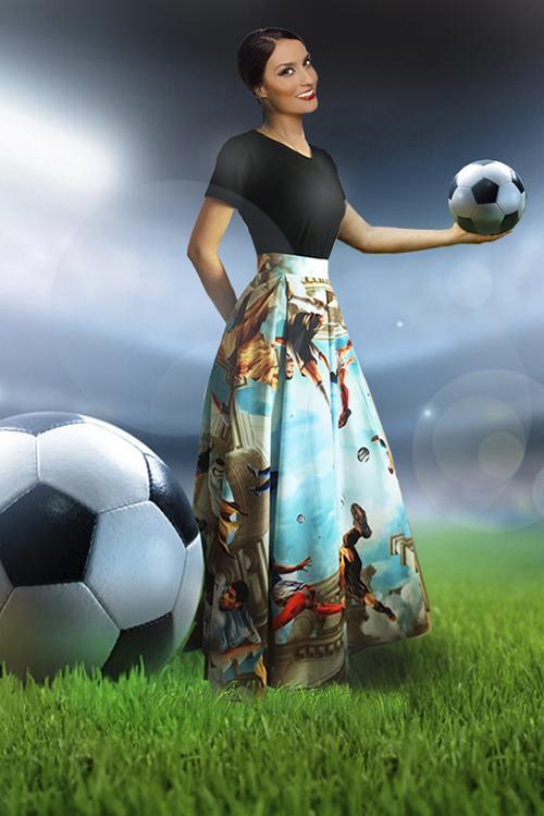 Юбка Эмма (Футбол)