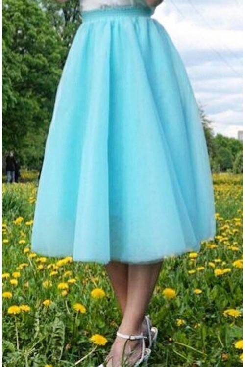 Юбка Джулия (голубой)