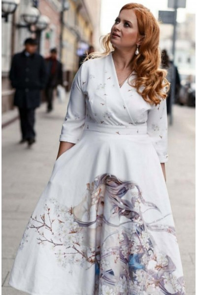 Платье Фаина (Дуновение весны)