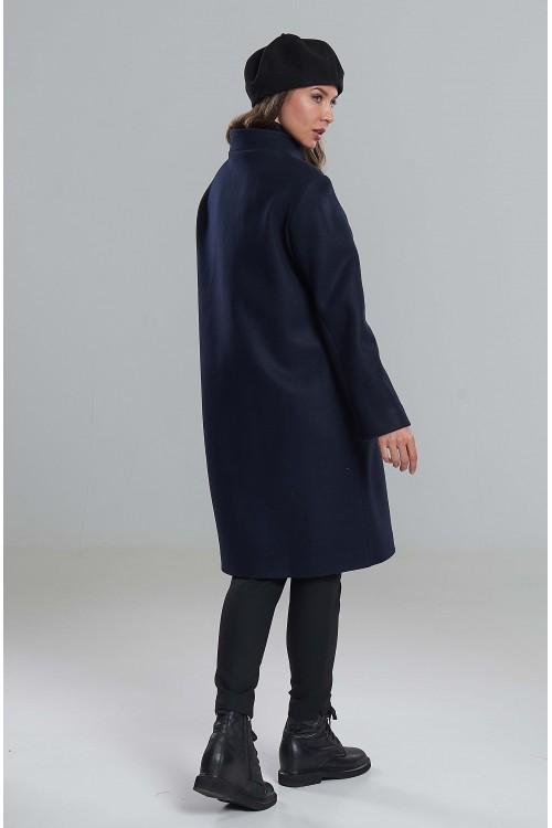 Пальто Наташа (темно-синее)