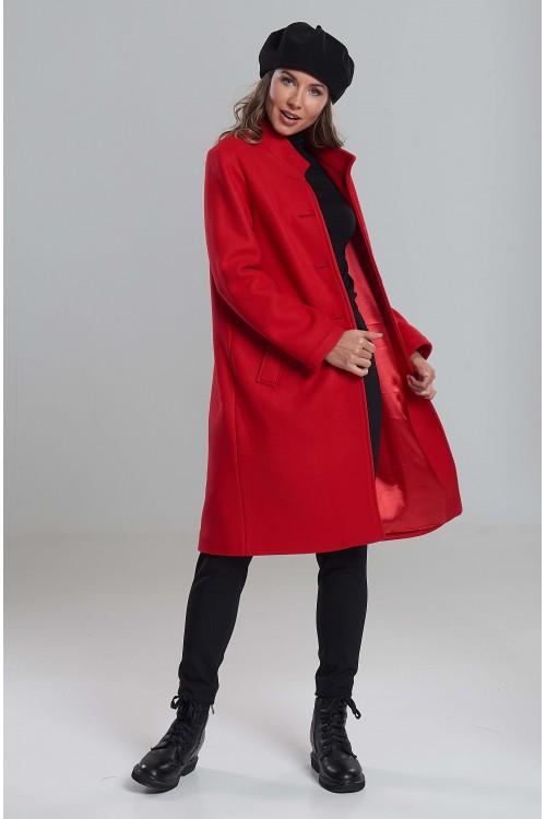 Пальто Наташа (Красное)
