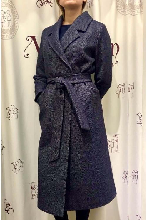 Пальто Роза (серый)