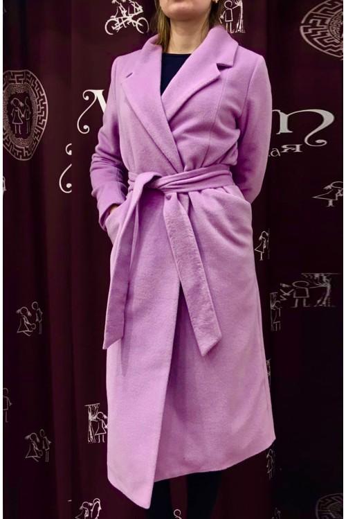 Пальто Роза (светло-сиреневый)