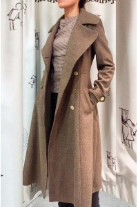 Пальто Бабетта (коричневый)