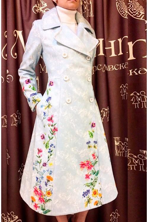 Пальто Бабетта (Цветы)