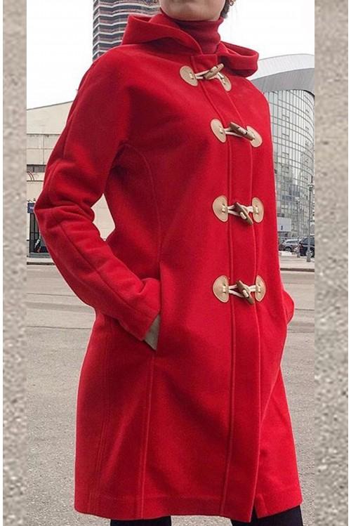 Пальто Виктория (красный)