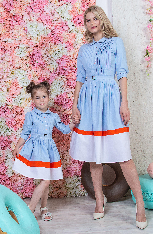 Купить Family look, Look - Платье Анастасия, Лабиринт «Мария Браславская»